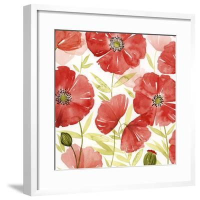 Poppy Screen II-Grace Popp-Framed Art Print