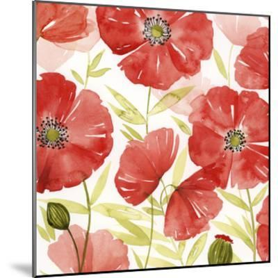 Poppy Screen II-Grace Popp-Mounted Art Print