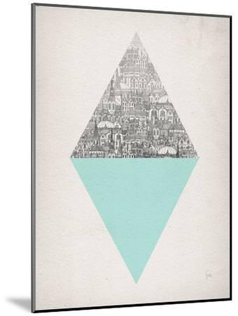 Diamond-David Fleck-Mounted Art Print
