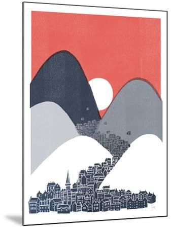 Midnight Sun-David Fleck-Mounted Art Print