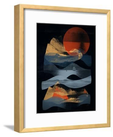 Descend-NDTank-Framed Art Print
