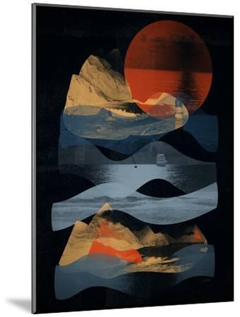 Descend-NDTank-Mounted Art Print
