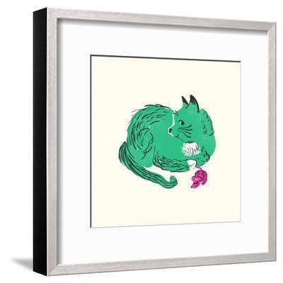 Cooper-NDTank-Framed Art Print