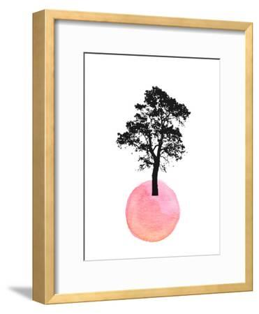 Pink Tree--Framed Art Print