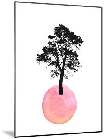 Pink Tree--Mounted Art Print
