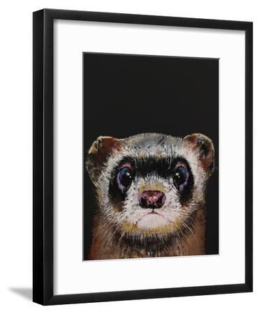Ferret-Michael Creese-Framed Art Print