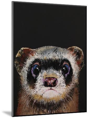 Ferret-Michael Creese-Mounted Art Print