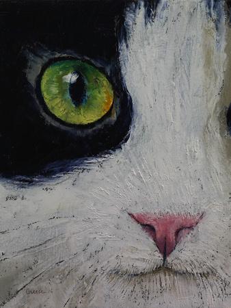 Japanese Bobtail Cat-Michael Creese-Framed Art Print