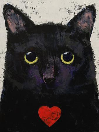 Love Cat-Michael Creese-Art Print