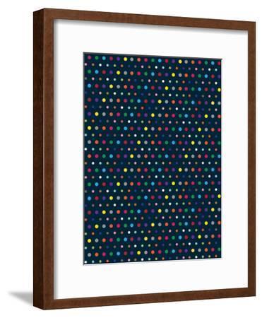 Dots-Joe Van Wetering-Framed Art Print