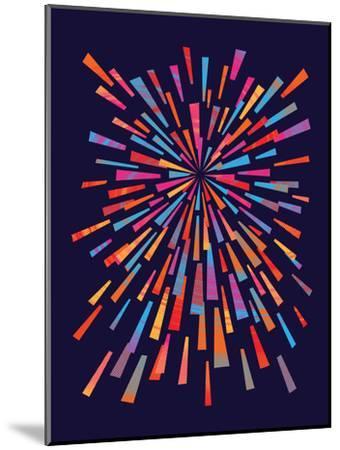 Fireworks-Joe Van Wetering-Mounted Art Print