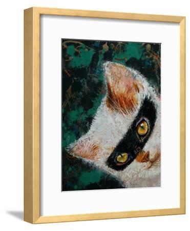 Cat Burglar-Michael Creese-Framed Art Print