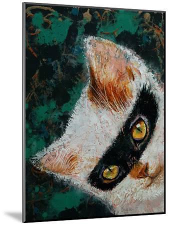 Cat Burglar-Michael Creese-Mounted Art Print