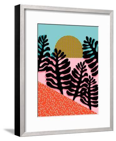 B F F-Wacka Designs-Framed Art Print