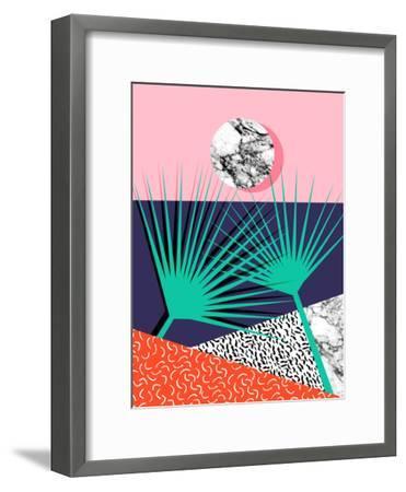 Head Rush-Wacka Designs-Framed Art Print