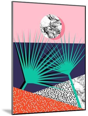 Head Rush-Wacka Designs-Mounted Art Print