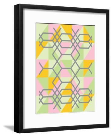 Geometrix-Ashlee Rae-Framed Art Print