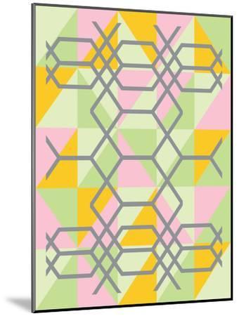 Geometrix-Ashlee Rae-Mounted Art Print