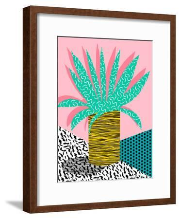 In The Mix-Wacka Designs-Framed Art Print