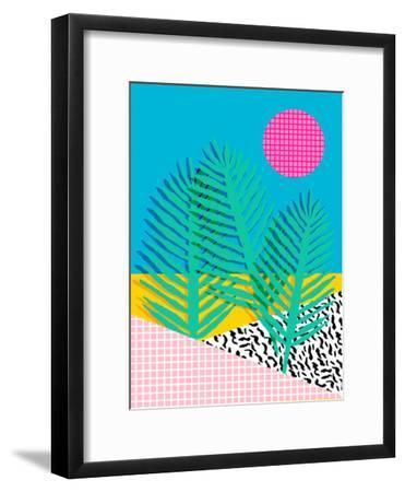 Mondo-Wacka Designs-Framed Art Print