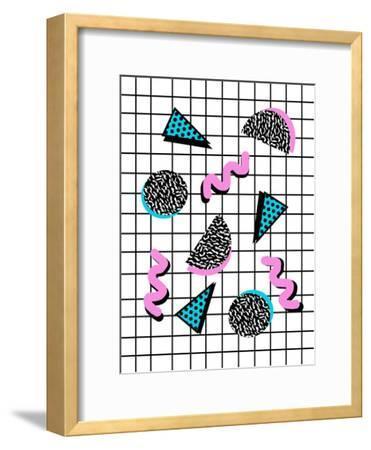 Joshin-Wacka Designs-Framed Art Print