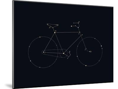 Bike Constellation-Florent Bodart-Mounted Art Print