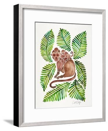 Monkeys-Cat Coquillette-Framed Art Print