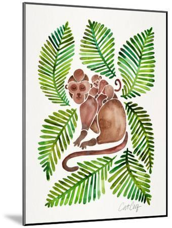 Monkeys-Cat Coquillette-Mounted Art Print