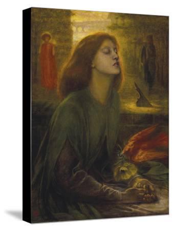 Beata Beatrix-Dante Gabriel Rossetti-Stretched Canvas Print