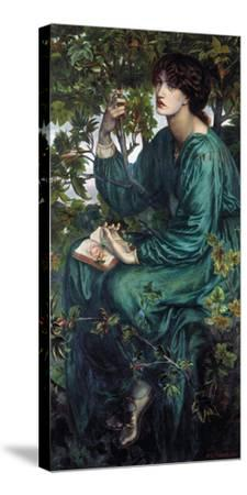 The Day Dream, 1880-Dante Gabriel Rossetti-Stretched Canvas Print