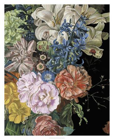 Baroque Floral II-Melissa Wang-Framed Giclee Print