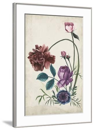 Antique Peony II-Melissa Wang-Framed Giclee Print