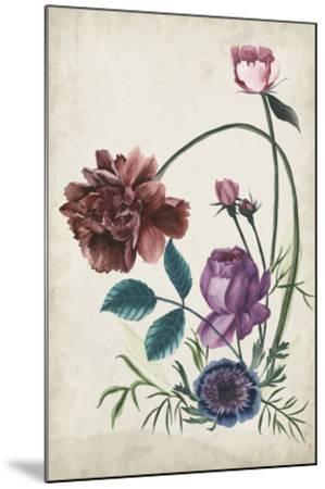 Antique Peony II-Melissa Wang-Mounted Giclee Print