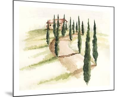 Tuscan Villa III-Jennifer Paxton Parker-Mounted Art Print