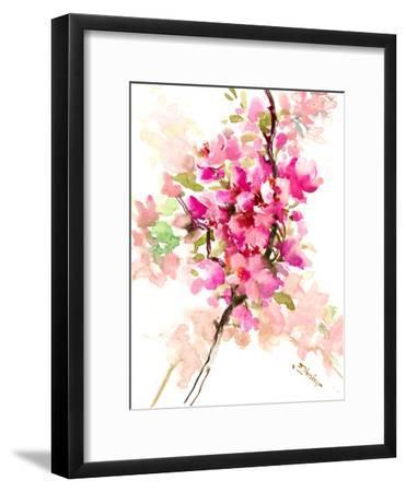 Cherry Blossom, Sakura 1-Suren Nersisyan-Framed Art Print