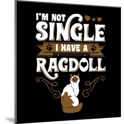 Ragdoll Cat Pet-Wonderful Dream-Mounted Art Print