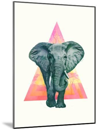 Elephant2-Laura Graves-Mounted Art Print
