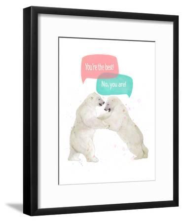 Best Friends-Laura Graves-Framed Art Print