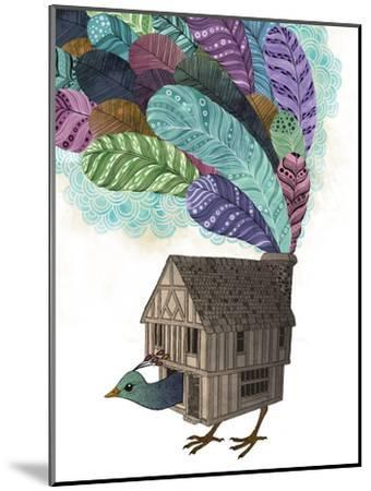Bird House Revisited-Laura Graves-Mounted Art Print