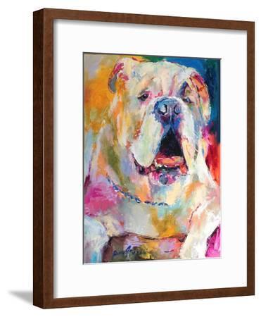 Bulldog-Richard Wallich-Framed Art Print