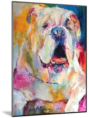 Bulldog-Richard Wallich-Mounted Art Print