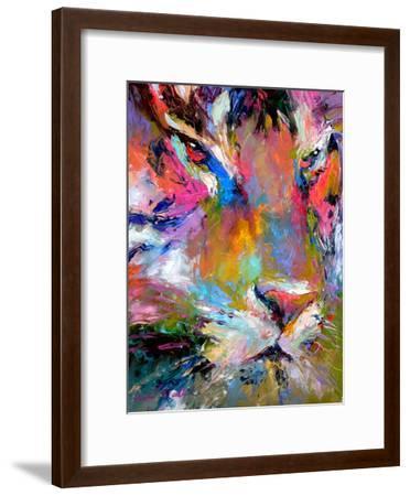 Tiger-Richard Wallich-Framed Art Print