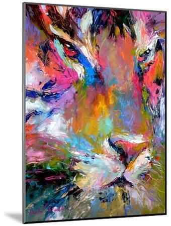 Tiger-Richard Wallich-Mounted Art Print