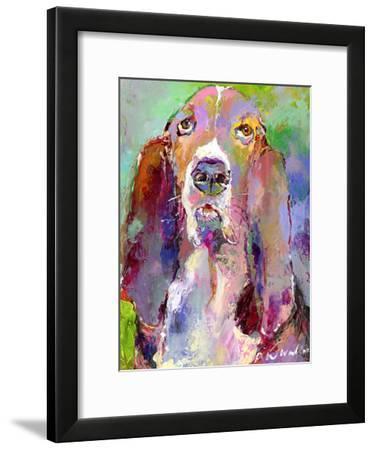 Basset Hound-Richard Wallich-Framed Art Print