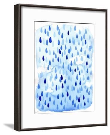Raindrops-Paula Mills-Framed Art Print