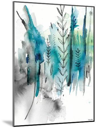 Nature In Blue No2-Paula Mills-Mounted Art Print