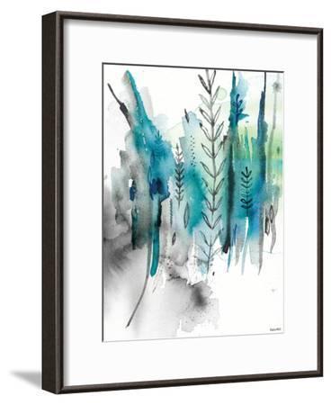 Nature In Blue No2-Paula Mills-Framed Art Print