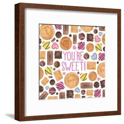 Youre Sweet-Elena O'Neill-Framed Art Print