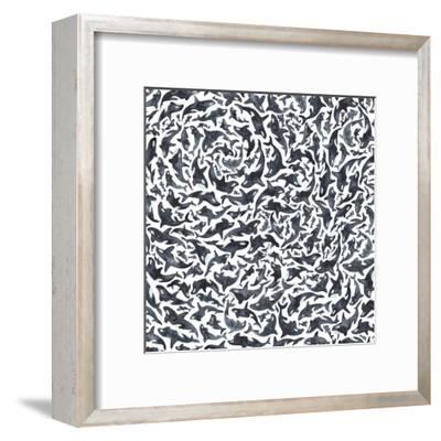 Orcas-Elena O'Neill-Framed Art Print