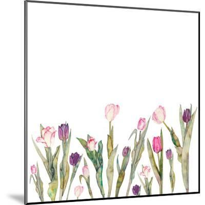 Tulips-Elena O'Neill-Mounted Art Print